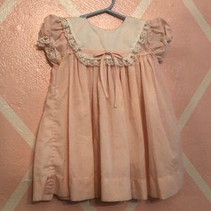 Vintage pink toddler dress